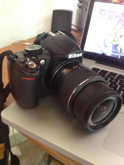 Cámara Profesional Dsrl Nikon D3100 Con Manual Cd Caja
