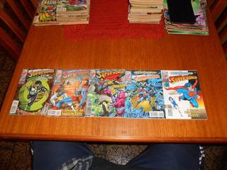 Hq Super-homem N 143,144,145,146,147. Saga Lanterna Verde.