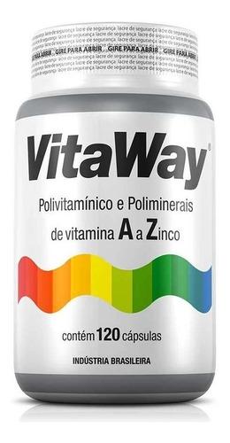 Imagem 1 de 4 de Vitaway Polivitamínico A A Z  Fitoway 120 Caps *imunidade*