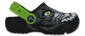Zapato Crocs Niño Fun Lab Tigre Clog K
