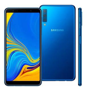 Samsung A7 2018 128gb Imagens Reais Com A Câmera Tripla