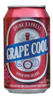 Chopp De Vinho Grape Cool Red Lata 350ml (cx 12 Un) - Góes