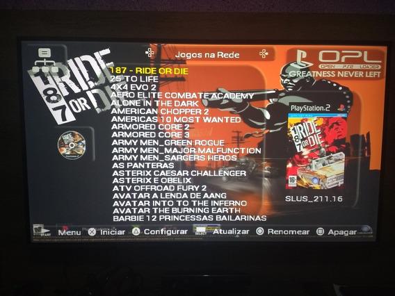 Pendrive 32gb + Opl (versão 0.9.4) + Brinde + Super Nintendo