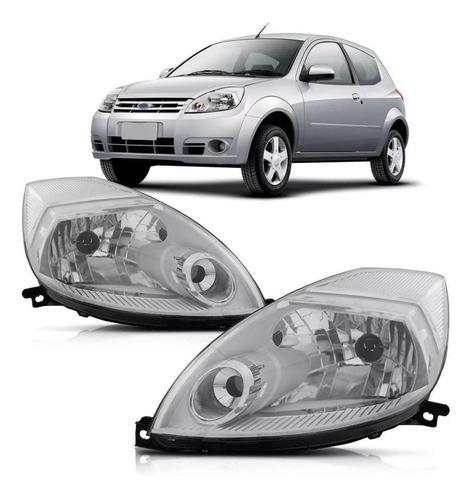 Imagen 1 de 10 de Juego Optica Ford Ka 2008 2009 2010 11 2012 2013 14 F / Crom