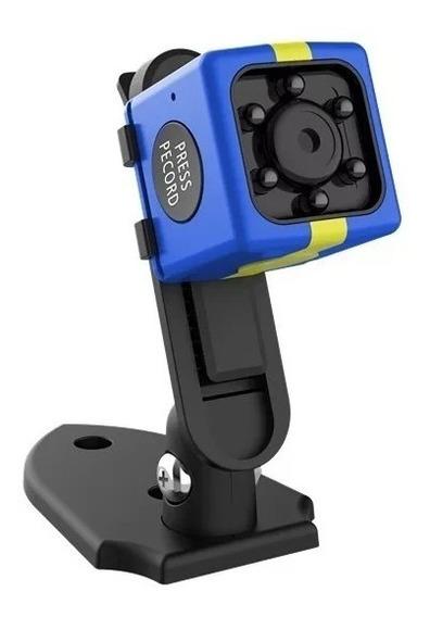 Mini Camara Espia 1080p Oculta Full Hd Graba Color Sport Activación De Movimiento Batería De Li-ion