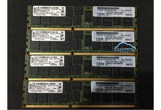 Memória Ram Pc3l Smart 16 Gb - M393b2g70bh0-yh9 Dell Ibm Hp