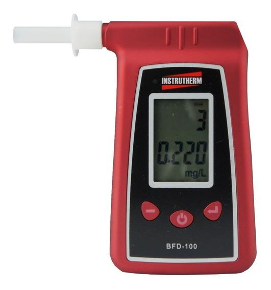 Bafômetro Etilômetro Profissional Digital + Estojo +4 Bocais