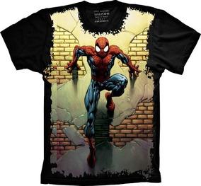 bab95c71c Camiseta Homem Aranha Guerra Infinita - Calçados