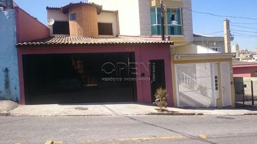 Sobrado Com 3 Dormitórios Com 3 Suítes   À Venda, 205 M² Por R$ 780.000 - Jardim Santo Antônio - Santo André/sp - So0994