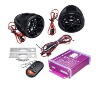 Alarma De Motocicleta Con Reproductor Bluetooth