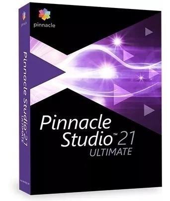 Pinnacle Studio 21 Ultimate + Completo Serial Original