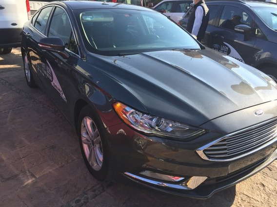 Ford Fusion Hev Se Lux 2018 Seminuevos