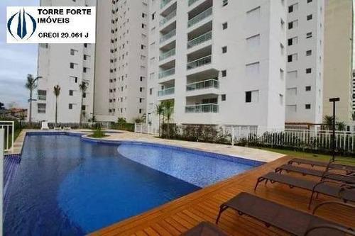 Imagem 1 de 15 de Lindo Apartamento Com 3 Suítes, Varanda Gourmet E 2 Vagas Na Mooca - 2304