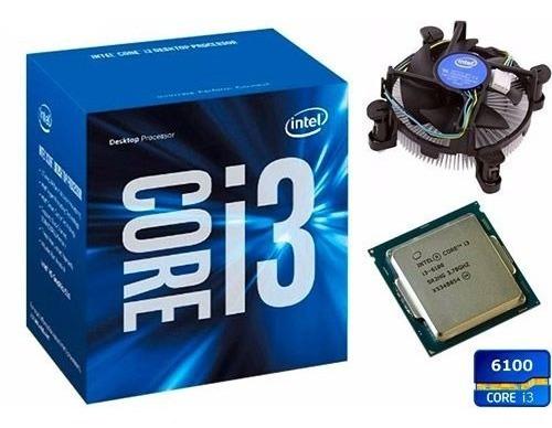 Processador Intel Core I3 6100 3.70ghz Cache 3mb