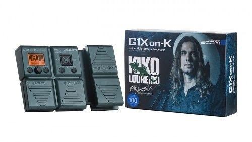 Pedaleira Para Guitarra Zoom G1xon-k Kiko Loureiro Original