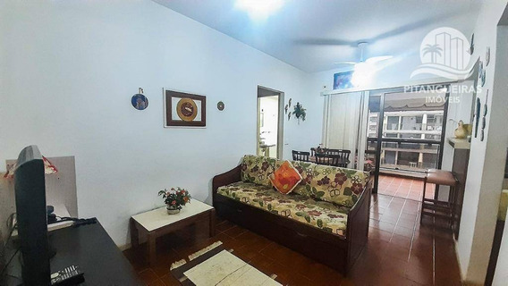 Apartamento Com 1 Dormitório À Venda, 53 M² Por R$ 240.000 - Pitangueiras - Guarujá/sp. - Ap4903