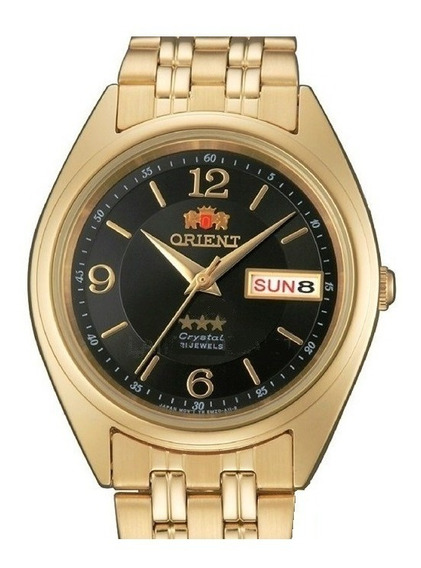 Relógio Orient Automático Masculino Folhado Fab0000cb9