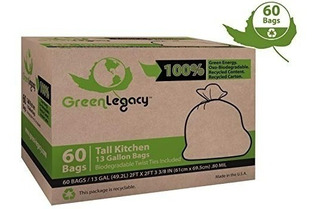 Bolsas De Basura Green Legacy Altas 60 Uds. Oferta