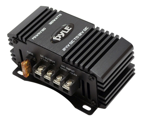 Pyle Reductor Convertidor Pswnv120 24v A 12v 120 W