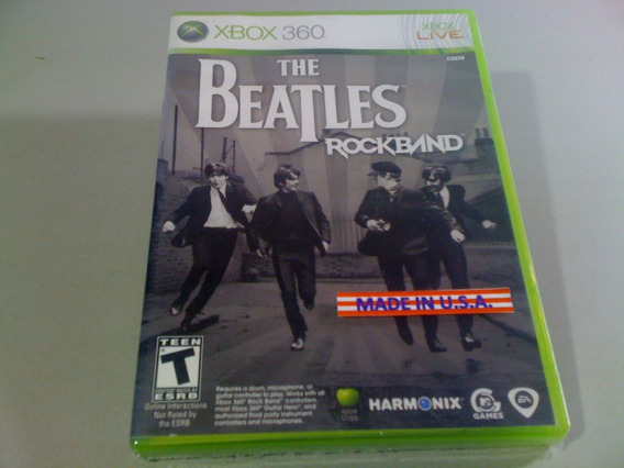 The Beatles Rock Band Xbox 360 - Games no Mercado Livre Brasil