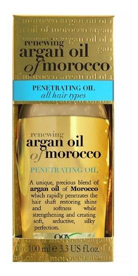 Óleo De Argan Morocco Penetrating Oil 100ml - Original