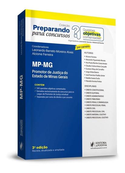 Promotor De Justiça Do Estado De Minas Gerais 3ª Ed.(2019)