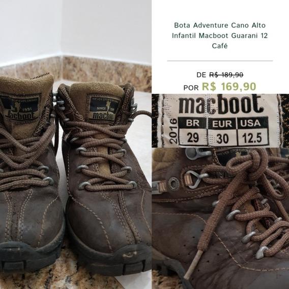 Bota Aventura Infantil Macboot