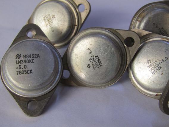 Lm340kc-5 Lm340kc 5v 1a Voltage Regulator National (2 Pcs)