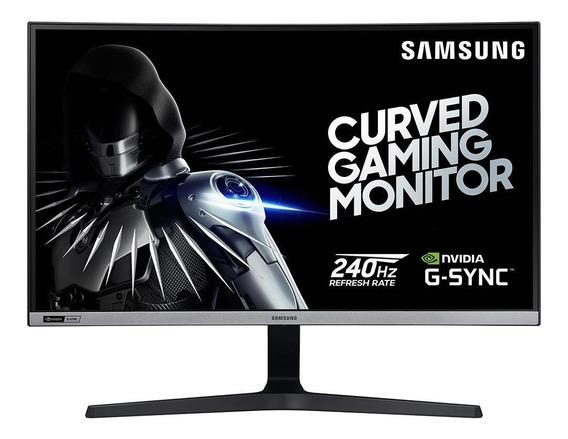 Monitor Gamer Samsung 27 Curvo Dp Gsync 240hz Lc27rg50fqlxzd
