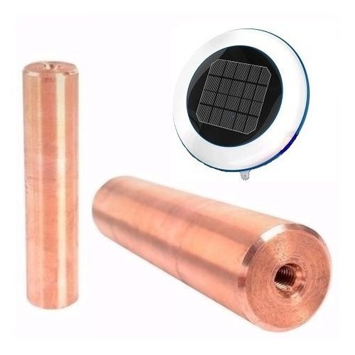 Imagen 1 de 6 de 2 Unid.  Ánodo De Cobre Repuesto P.  Boya Ionizadora Solar