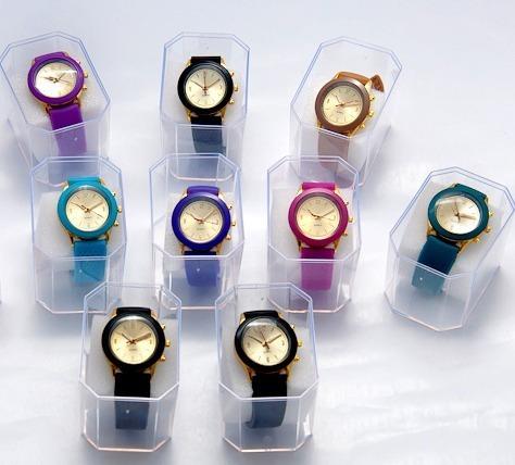 Oferta! Kit 09 Relógios Femininos - Várias Cores + Caixas