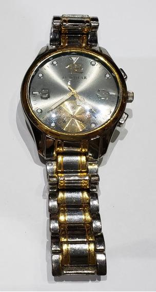 Relógio De Pulso - Quartz - Teachear - Aço Inoxidável - Inox