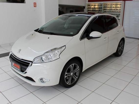 Peugeot 208 Griffe 1.6 16v Flex, Top De Linha