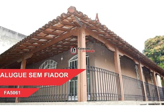 Casa 03 Quartos Para Alugar, Bairro Céu Azul, Belo Horizonte - Mg. - 5061