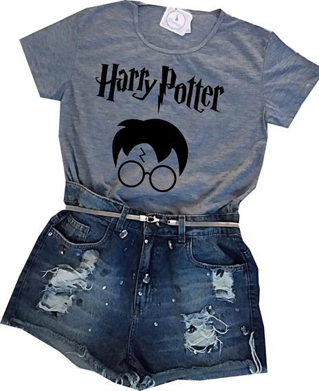 Camisa Camiseta Blusa Harry Potter Kit Atacado Varejo
