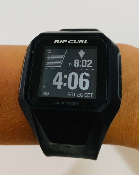 Relógio Rip Curl Search Gps A1111 Surf Estado De Novo R$849