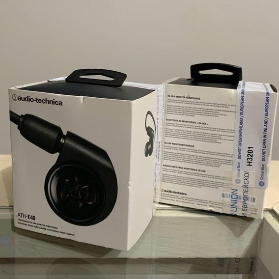 Fone In-ear Audio Technica Ath-e40 - Lacrado Na Caixa!