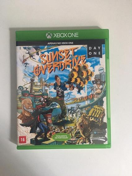Jogo Xbox One Usado - Barato - Sunset Overdrive - Bom Estado