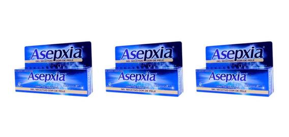 Asépxia Gel Camuflagem Facial 28g (kit C/03)