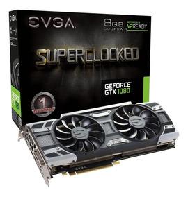 Placa De Vídeo Evga Geforce Gtx 1080 Sc Gaming