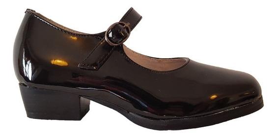Zapato Huaso Reina Charol