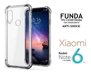 Funda Tpu Anti Shock Rigida Xiaomi Redmi Note 6 Pro Rosario