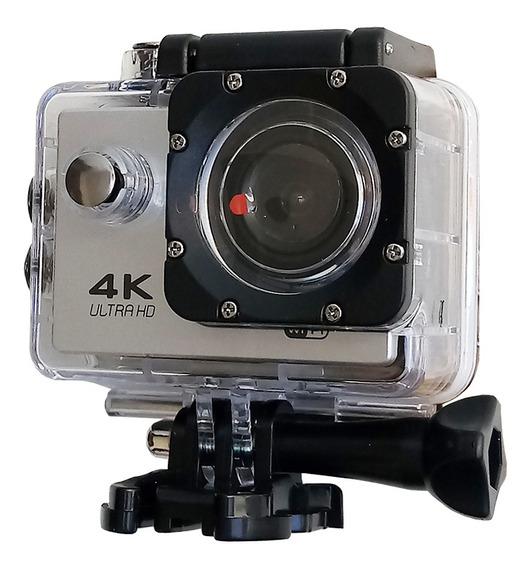 Camera 4k Wifi Capacete Moto Esportes Ação Mergulho Action