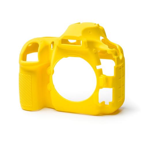Carcasa Silicon Easycover Amarillo Nikon D850 + Mica Lcd