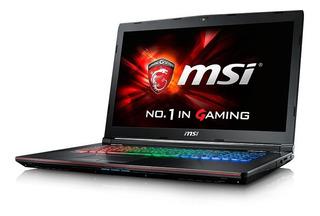 Laptop Gamer Msi Ge62 Apache Pro 15.6 2.80ghz Intel I7-7700hq Gtx1050 16gb Ram 1 Tb Como Nueva Con Caja Y Accesorios!