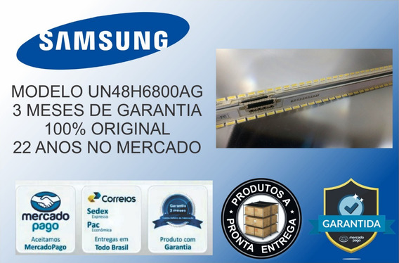 Kit Barras De Led Tv Sansung Un48h6800ag Original