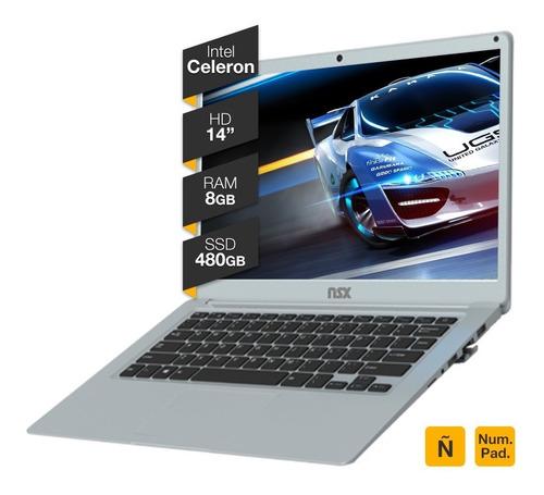 Notebook Intel Celeron J4115 14p Hd 8gb Ram Ssd 480gb  Win10