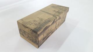 Caixa De Sapato Paris Embalagem De Papelão 12 X 28 - Kit 10