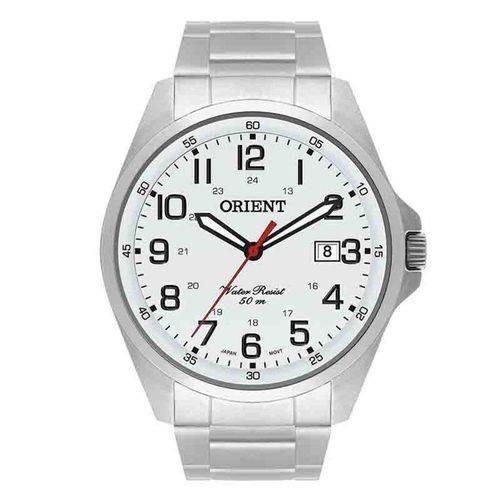 Relógio Masculino Orient Mbss1171 S2sx Prata