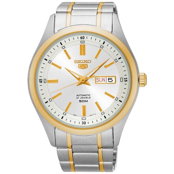 Relógio Seiko Masculino Snkn92b1 S1sk Diâmetro 42mm